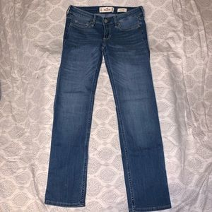 New Hollister Low rise skinny jean 5 short
